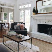 Ako vyzerajú biele obývacie steny?