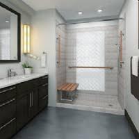 Malé koupelny pro více lidí